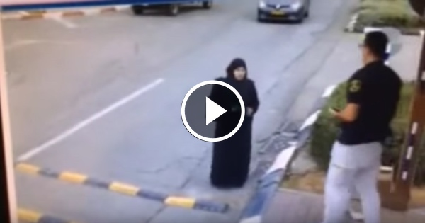 WATCH: 'Helpless' Muslim Grandmother Approaches Police, But Look What's in Her Bag