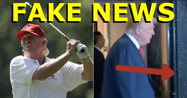 FAKE NEWS: Media said Trump was golfing... here's what he REALLY did