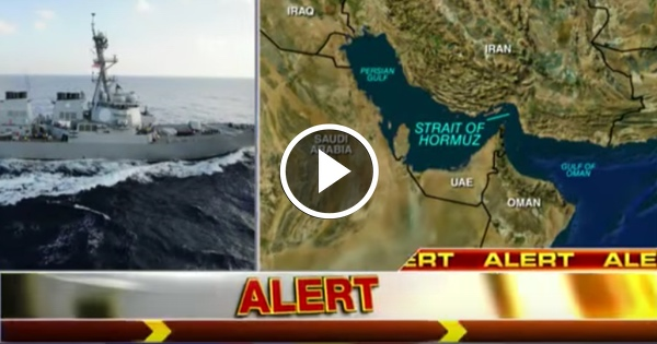 BREAKING: Iranian warship confronts US destroyer, gets SCARED THE HELL OFF
