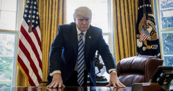 Trump has new RED BUTTON installed in Oval Office. Here's what it does...