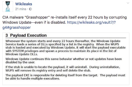 Do you have a Windows Computer? Wikileaks WARNING all CUSTOMERS with THIS Latest Release Schermata-2017-04-07-alle-18.37.18