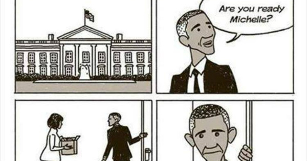 Liberals HOWLING Over This Viral Obama Cartoon - But We Can't Stop LAUGHING!
