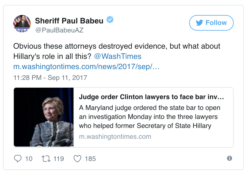 Image result for maryland judge orders court to investigate Hillary Clinton
