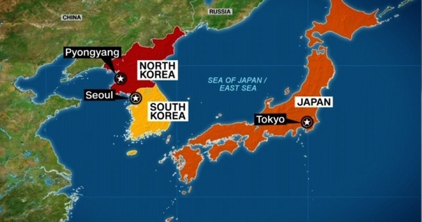 """north korea and japan North korea has accused the us and japan of bringing """"the raging wind of war""""  to the peninsula, while warning the trump administration over."""