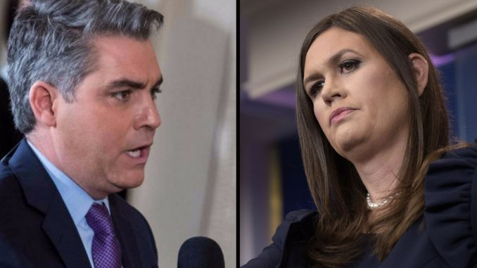 VIDEO: Sarah Sanders Just Burned CNN So Badly The Whole Room Let Out An Audible Gasp