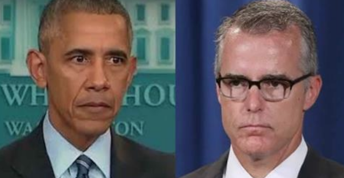 Image result for McCabe's Bombshell Confession: High Level Obama Official Ordered Me to Shutdown The Clinton Investigation