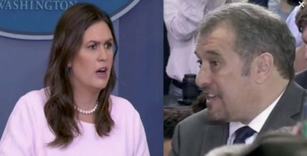 Reporter Attacks Sarah Sanders, Suggests Trump's a Liar, Then She Drops The Hammer Leaving Him in Silence