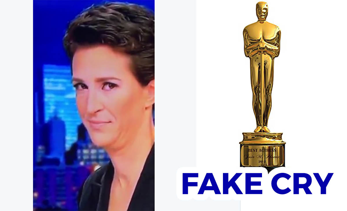 Breaking Give Rachel Maddow An Oscar For The Best Fake