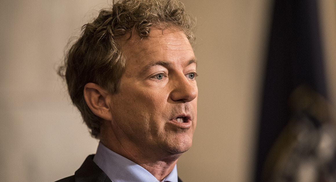 Rand Paul Just Admitted What the Democrats Are Refusing To Let Out